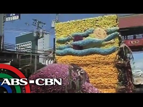 Floats bloom with flowers in Kadayawan Festival