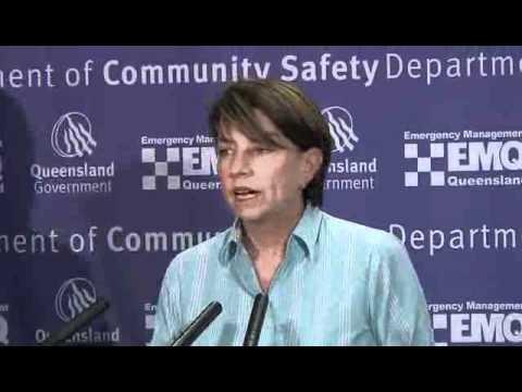 Media Conference - Queensland Police flood briefing, Friday Jan 7