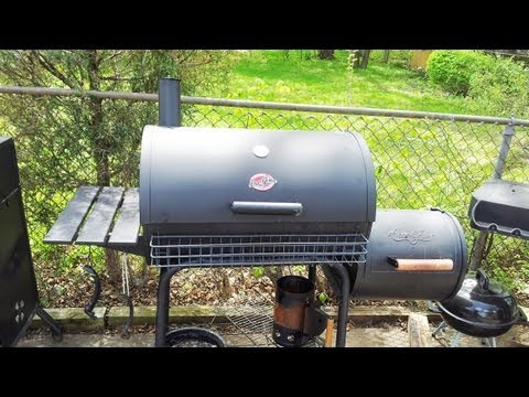 Chargriller Offset Smoker Mods