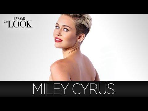 Miley Cyrus Talks Style, Grills & the Olsen Twins | Harper's Bazaar The Look