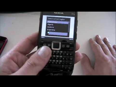 Video: Nokia E71x (AT&T) - Unboxing