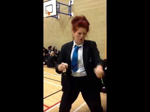 Chloe T From Ba Dancing In Sports Hall Lol Xxx video