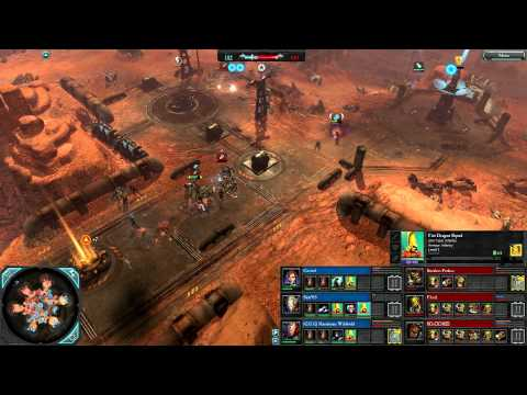 DoW2: Retribution — 3v3 | Faction War — Eldar [vs] Orks | 2 | Elite Mod