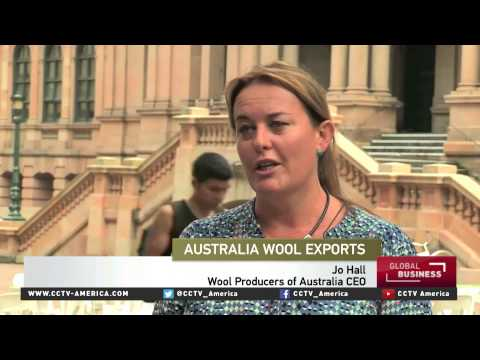 Australian wool farmers fear price declines as China's economy slows