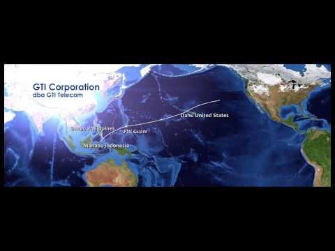 SEA-US submarine fiber optic cable project