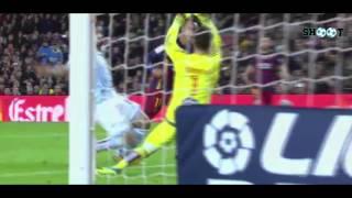 Neymar vs Celta Vigo First Half 14/02/2016