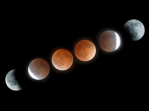 Lunar Eclipse April 15, 2014 -  Blood Moon Time-Lapse