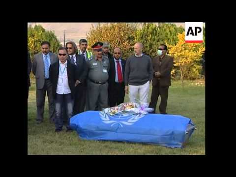 Remains of UN staff killed in attack repatriated