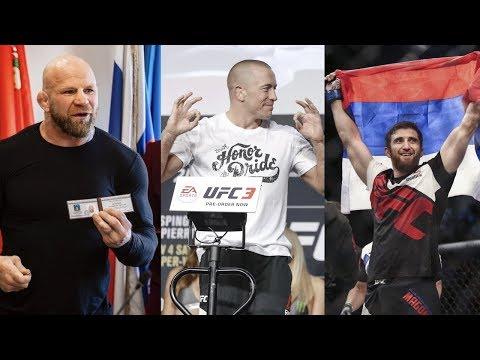 Депутат Джефф Монсон победил экс-чемпиона UFC, российский боец возвращается в UFC спустя три года
