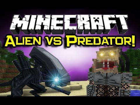 Minecraft Alien vs Predator