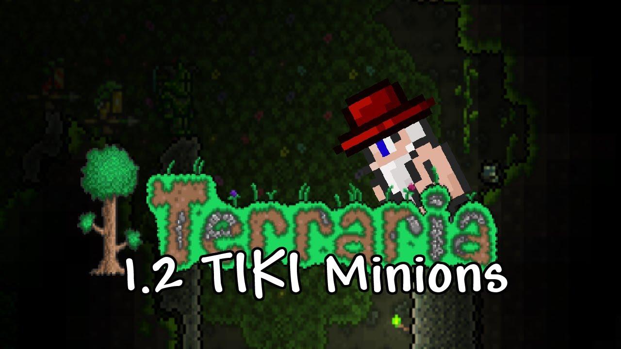 terraria how to make tiki boss
