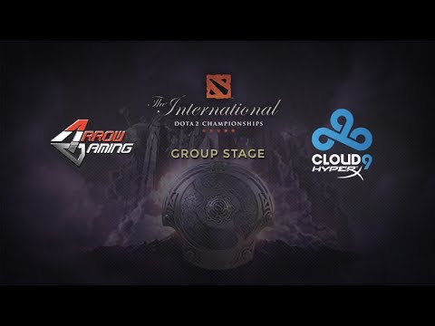 C9 -vs- Arrow, The International 4, Group Stage, Day 1
