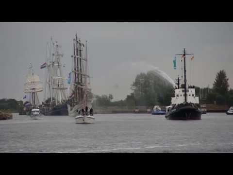 JadeWeserPort CUP, Wilhelmshaven, Wilhelmshaven unter Segeln, Traditionssegler Regatta, 01