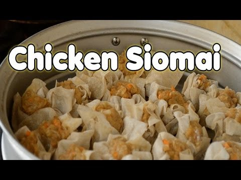 COOKING 101: CHICKEN SIOMAI - LittleMsEms