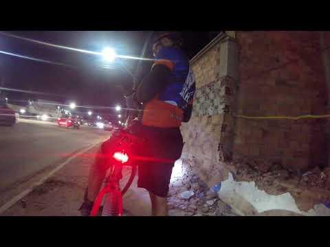 Giro de Bike a Noite na Cidade de São Luís Maranhão