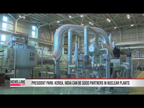 President Park: Korea, India can be good nuclear plant partners