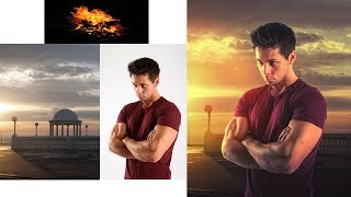 Photoshop Tutorial : How to Composite and Blend Images in Photoshop - Background Change