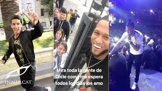 """El Alfa """"El Jefe"""" Chile Tour Presentaciones En vivo - De gira por Chile 2017"""
