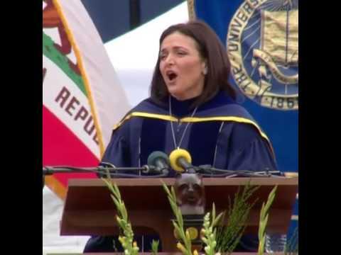 Facebook's Sheryl Sandberg's powerful commencement speech at UC Berkeley
