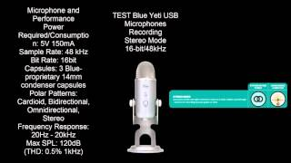 Test microphones and sound cards Blue Yeti Genius Beamforming...on Realtek 1150 and SBZ 320 kbts