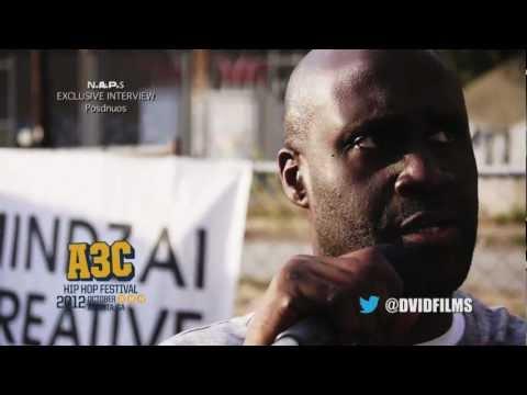 No AirPlay Show [N.A.P.S] exclusive interview w/ Posdnous of De La Soul @ A3C Hip Hop Fest. 2012