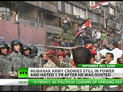 Tahrir Encore: Strike over Mubarak army cronies