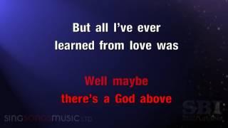 Hallelujah Karaoke Hd In The Style Of Alexandra Burke