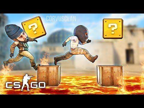 SUPER MARIO BROS EN CS:GO MODS - INCREÍBLE MINIJUEGO!!!