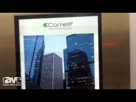 CEDIA 2015: Comelit Exhibits Its 316 Touch Panel for Video Intercom Systems for Multi Tenant Units
