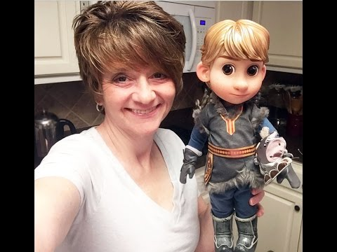 Disney Animator's Collection Doll Kristoff Opening and Review