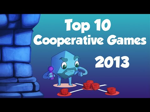 Dice Tower Top 10 Cooperative Board Games