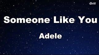 Someone Like You - Adele Karaoke【No Guide Melody】
