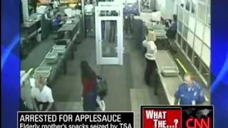 TSA Agents Lose Case Against Woman with Applesauce - April 21, 2010.