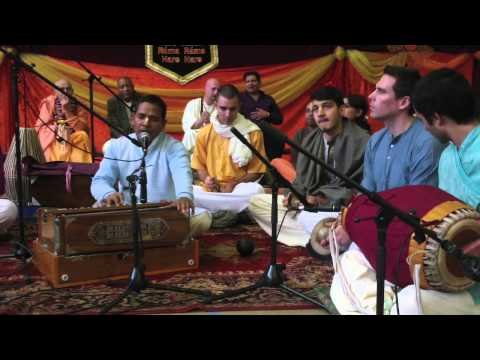 Antwerp Kirtan Event 2013 Devakinandan Dasa Prabhu video