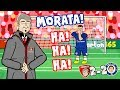 😂MORATA! HA! HA! HA!😂 (Arsenal vs Chelsea 2-2 Parody 2018 Goals Highlights Misses) MP3