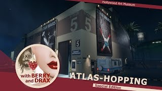 Atlas-Hopping in Linden Lab's Sansar with Berry & Drax - Special Hollywood Edition