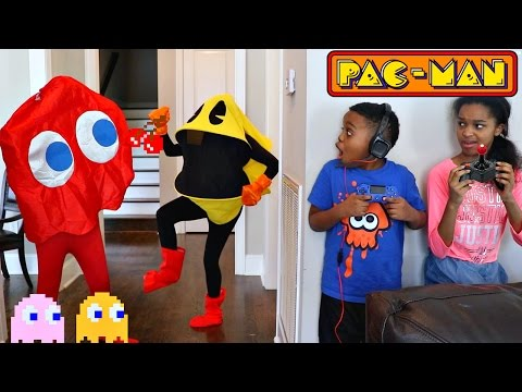 PACMAN vs Shiloh and Shasha  Onyx Kids