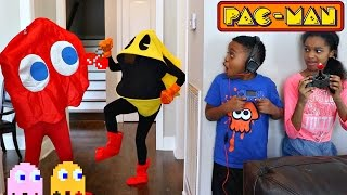 PAC-MAN vs Shiloh and Shasha - Onyx Kids