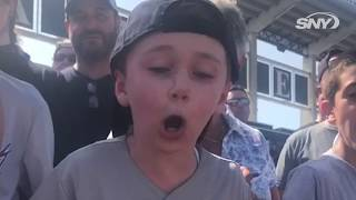 This kid Yankees fan reaction to the Machado/Padres deal is priceless!