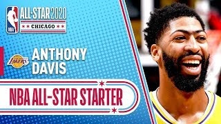 Anthony Davis 2020 All-Star Starter | 2019-20 NBA Season