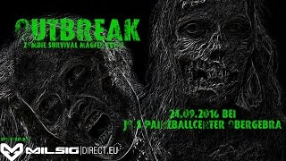 OUTBREAK! Zombie Survival RPG Magfed Event - Trailer 4 - Event Paintball der Extraklasse