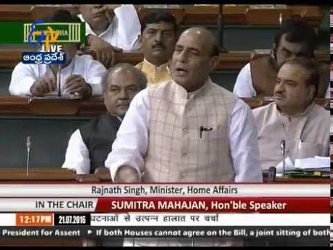 Pakistan Behind Kashmir Protests: Rajnath Singh Tells Lok Sabha