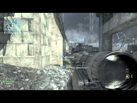 MW3 - TRIPLE KILL AND AWESOME SNIPING!