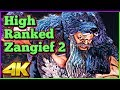 High Ranked Zangief Compilation 2   Street Fighter 5 AE   4K Ultra HD - 60fps - PC   Shadaloo Stew