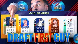 FIFA 18 : DRAFT FIRST GUY #1 !! 🔥🔥🔥