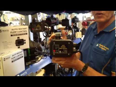 Auto Restart Pump Control from Quality Pumps
