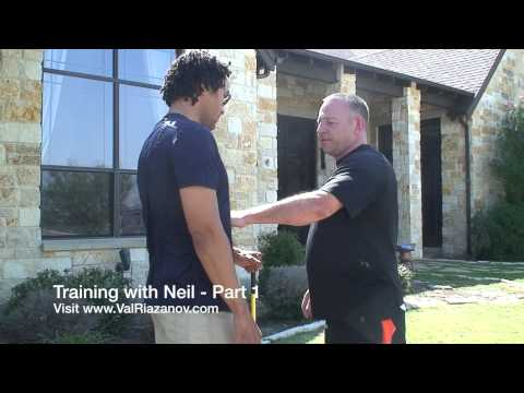 Russian Martial Arts, Systema and Ballistic Striking training With Neil Franklin - Part 1 Image 1