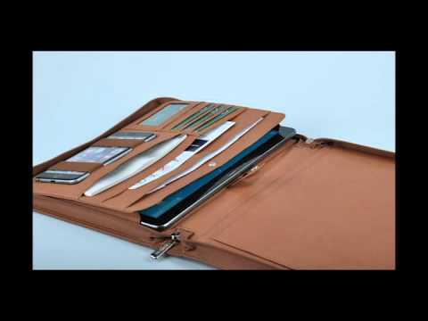 150312PJJ-By iCarryalls,iPad Pro 9.7 Portfolio Case with Writing Pad