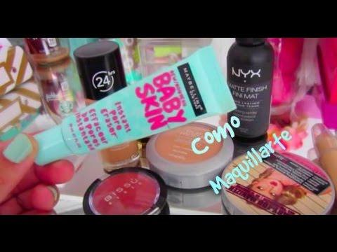 Como aprender a maquillarte | Maquillaje  para Principiantes