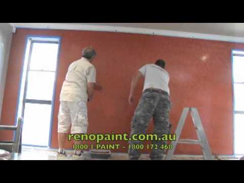 Metallic Feature Walls - renopaint.com.au